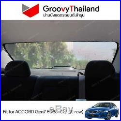 1 Pc Back Rear Windscreen Car Fit Sunshade For For Honda Accord Euro Cl-7