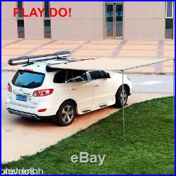 2x 2M Car Side Awning Roof Top Tent Oxford Sun Shade Shelter Car Awning Tent