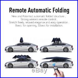 4.5 x 2.3m Automatic Car Roof Cover Umbrella Sunshade Roof Tent UV Protection
