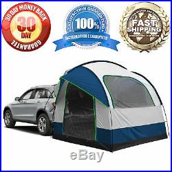 4-6 Person Universal SUV Car Tent Camping Outdoor Travel Sun Shade Waterproof