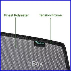 4 Pack Custom-Fit Car Window UV Sun Shades for BMW 3 SERIES 2019 to 2020 MODEL