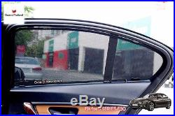 4 Pcs Set Foldable Mesh Curtain Car Sun Shade Assembly Fit Bmw 3 Series F30