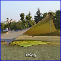 5-8 Person Waterproof Car Side Awning Rooftop Tent Sun Shade SUV Canopy Outdoor