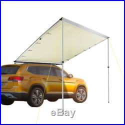 6.6x8.2' Car Side Awning Rooftop Tent Sun Shade SUV Outdoor Camping Travel
