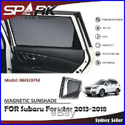 Ad Magnetic Car Window Sun Shade Blind Mesh For Subaru Forester 2013-2018