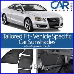 Audi A5 2 Door Coupe 2007-15 UV CAR SHADES WINDOW SUN BLINDS PRIVACY GLASS TINT