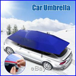 Automatic Portable Anti-UV Protection Car Umbrella Sun Shade Tent Roof Cover US