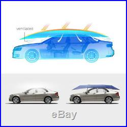 Automatic Portable Car Tent Umbrella Sun Shade Roof Cover UV Protection US Large