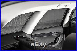 BMW 5 Series 4dr 97-03 UV CAR SHADES WINDOW SUN BLINDS PRIVACY GLASS TINT BLACK