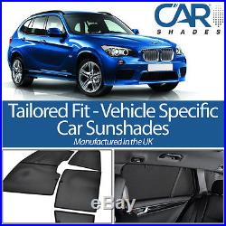 Bmw X1 5 Door 2010-15 Uv Car Shades Window Sun Blinds Privacy Glass Tint Black