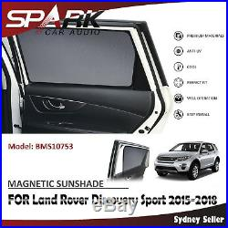 CT MAGNETIC CAR WINDOW SUN SHADE BLIND MESH FOR Land Rover Discovery Sport 15-18