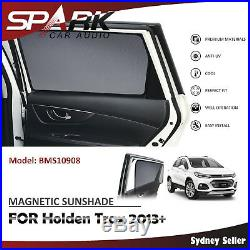 CT MAGNETIC CAR WINDOW SUN SHADE BLIND MESH REAR DOOR FOR Holden Trax 2013+
