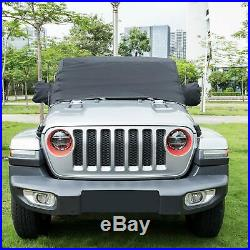 Car Full Cover Sun Shade Cover UV-Protection for Jeep Wrangler JL 2018 2019