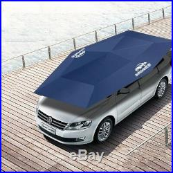 Car Fully-Automatic Remote Umbrella Sunshade Tent Roof Cover Anti Dust Protector