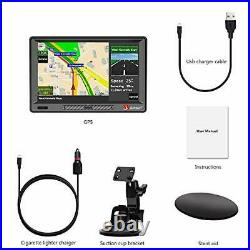 Car GPS, 9 inch GPS Navigation for Car with Sunshade HD Touch Screen 8GB 9 Inch