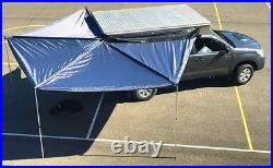 Car Side Awning 270 Degree Rooftop Tent Sun Shelter SUV Camping Travel Sunshade