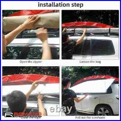 Car Side Awning 4WD 4X4 Side Sun Shade Roof Top Extension Camping Outdoor Tent