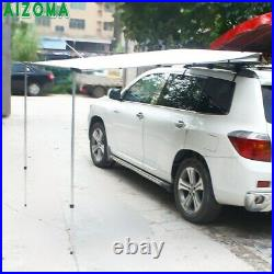 Car Side Awning Roof Top Pullout Tent Sun Shade Shelter Roof Rack Screen 1.5m2m