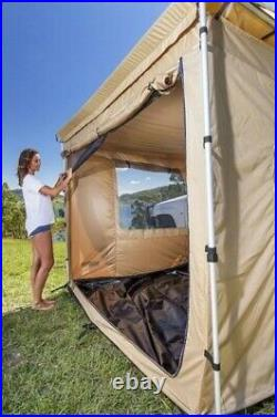 Car Tent Awning Rooftop Camping SUV Travel Shelter Outdoor Sunshade Side Canopy