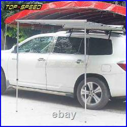 Car Tent Awning Rooftop SUV Truck Camping Waterproof Outdoor Sunshade Canopy NEW