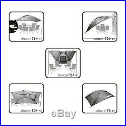 Car Tent Awning Rooftop SUV Truck Shelter Outdoor Camping Travel Sunshade Canopy