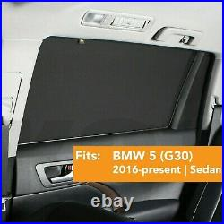 Car Window Sun Shade Baby Screen Protection Compatible BMW 5 G30 2016-present