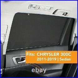Car Window Sun Shade Baby Screen Protection Fits CHRYSLER 300C 2nd Gen 2011-2019