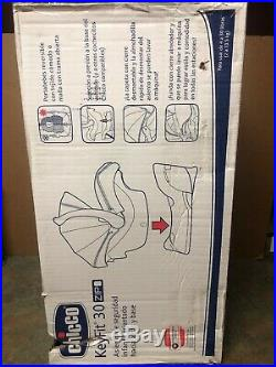 Chicco Keyfit 30 Zip Infant Child Safety Car Seat & Base Minerale 4 30 lbs