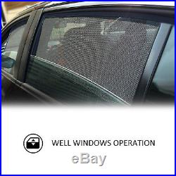Ct Magnetic Car Window Sun Shade Blind Mesh Rear Door For Toyota Prado 2010-2018