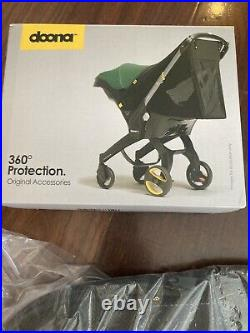 Doona 3 Accessory Set Sunshade, Snap-on Storage & Base Car Seat Not Included