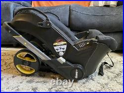 Doona Infant Car Seat to Stroller in Seconds Black NO CAR BASE OR SUN SHADE