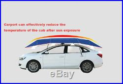 Durable Navy Blue Replaceable Umbrella Cloth Sun Shade 42.1M For Car Tent Cover