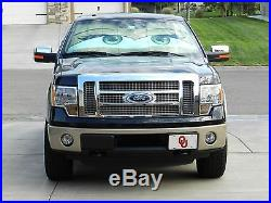 Eyeshade Custom fit folding sunshade with eyes design for cars and trucks