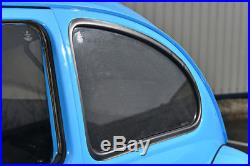 Fiat Qubo 5dr 2008 On UV CAR SHADES WINDOW SUN BLINDS PRIVACY GLASS TINT BLACK