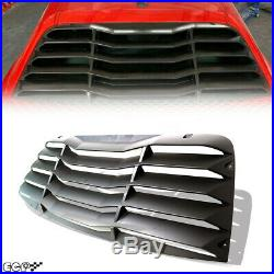 Fit for 08+Challenger GT/R/T/SRT Rear Car Window Quarter Louvers Sun-Shade