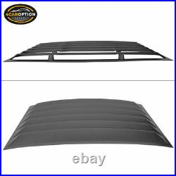 Fits 10-15 Chevy Camaro XE Style Rear Window Louver & Quarter Side Scoop