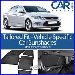 Ford Mondeo 5dr 2007-14 UV CAR SHADES WINDOW SUN BLINDS PRIVACY GLASS TINT BLACK