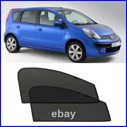 Front Door Car Window Sun Shade Shield Blind Mesh For Nissan Note 2005-2013