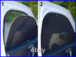 Front Door Car Window Sun Shade Shield Blind Mesh For Opel Astra H Hb 3d 2005-15