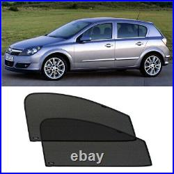 Front Door Car Window Sun Shade Shield Blind Mesh For Opel Astra H Hb 5d 2004-15