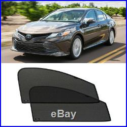 Front Door Car Window Sun Shade Shield Blind Mesh For Toyota Camry 2017-2018
