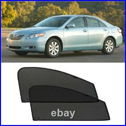 Front Door Car Window Sun Shade Shield Blind Mesh For Toyota Camry V40 2007-2011