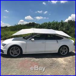 Full-Automatic Car Roof Cover Umbrella Sunshade Tent UVProtection Remote Cont B7