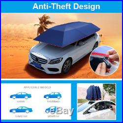 Fully Automatic Car Umbrella Sunshade Tent Remote Control Operated Waterproof UV