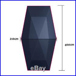 Fully Automatic Car Umbrella Sunshade Tent Roof Cover Anti-UV Protection Remote