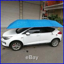 Fully-Automatic Remote Car Umbrella Sunshade Tent Cover Anti UV Dust Protector