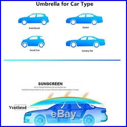 Fully-Automatic Remote Car Umbrella Sunshade Tent Roof Cover Anti-UV