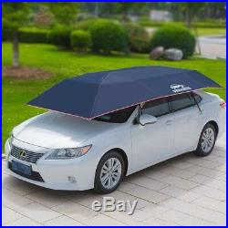 Fully-Automatic Remote Car Umbrella Sunshade Tent Roof Cover Anti UV Dust Water