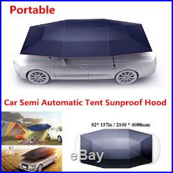 Fully-Automatic Remote Outdoor Car Umbrella Sunshade Tent Roof Cover Anti-UV Kit