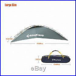 KingCamp Car SUV Tent Awning Rooftop Shelter Portable Sunshade Canopy Outdoor